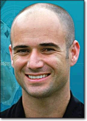 Photo Andre Agassi