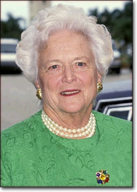 Photo Barbara Bush