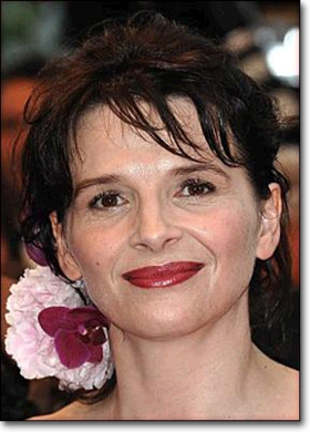 Photo Juliette Binoche