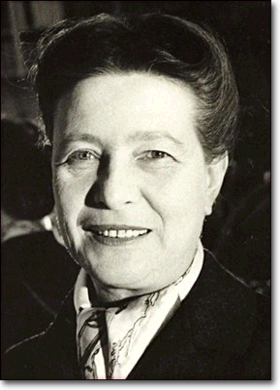 Photo Simone De Beauvoir