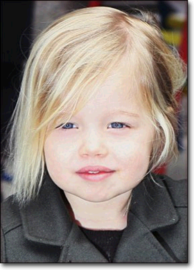 Photo Shiloh Jolie-Pitt