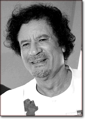 Photo Muammar Kadhafi