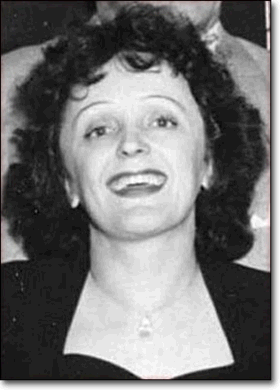 Photo Édith Piaf