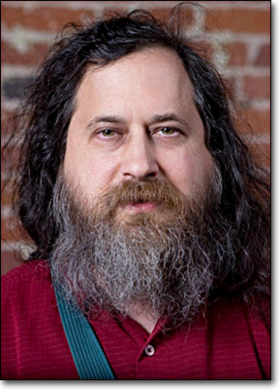 Photo Richard Stallman