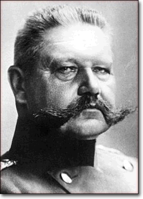 Photo Paul Von Hindenburg
